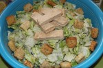 Vegan Caesar Salad Recipe With Soy Chicken
